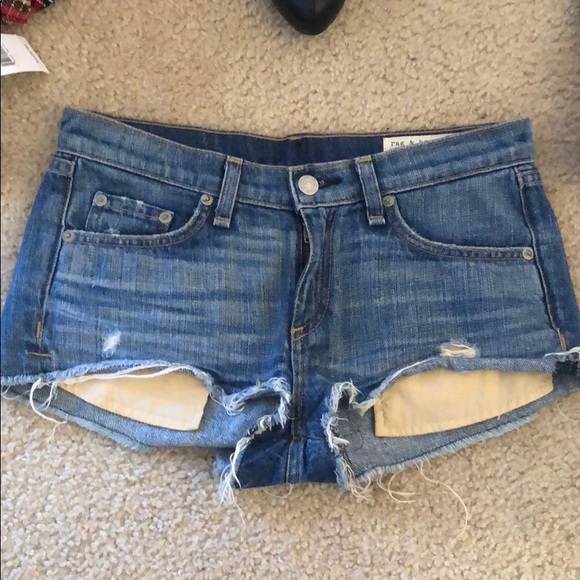 rag & bone Pants - EUC rag & bone cutoff shorts